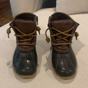 Sperry Boys Saltwater Boots